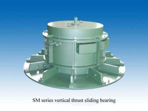 SM de la serie los cojinetes de deslizamiento de empuje vertical