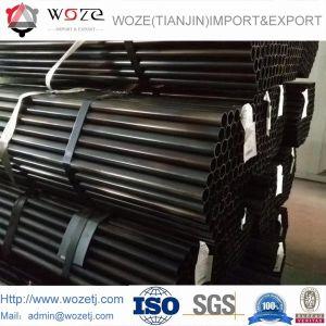 穏やかなカーボン溶接金属ERWの黒い鉄の鋼管の管
