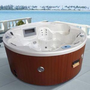 6 Pessoa Família Circular acrílico banheira spa Jacuzzi