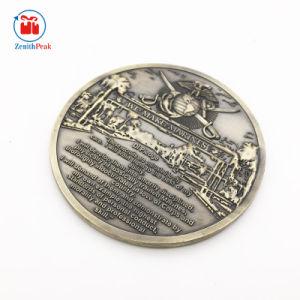 カスタムOEMは打たれた金属の海兵隊員の硬貨の金属のクラフトを停止する