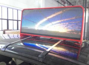 Petite taille P5 LED couleur de plein air Les véhicules pour la publicité