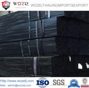 중국 공장에서 기름을 바른, 가장 싼 가격을%s 가진 까만 강관