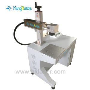 携帯用ファイバーレーザーのマーキング機械を刻む鋼鉄レーザー