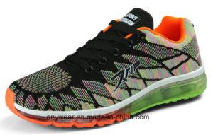 Nuevo diseño Cushiongel Flyknit aire Deportes de la ejecución de los zapatos para correr (243)