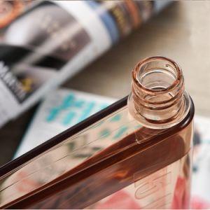 Бутылка воды удалите книги портативный бумаги плоской панели напитки чайник Drinkware спорта