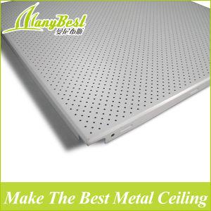 Azulejos de techo ignífugo de aluminio perforado