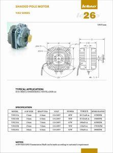 10-200mm Premium de 13-30W Máquina de congelación de la eficiencia del motor eléctrico del ventilador de aire acondicionado