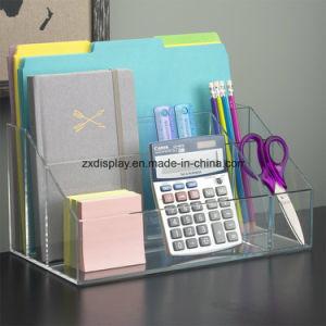 Erstklassiger Qualitätsraum-Acrylfertigkeit und Schreibtisch-Organisator