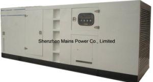 500kVA 400kw generador Cummins Diesel tipo silencioso grupo electrógeno insonorizado Canopy