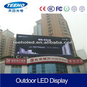 P10 LED de la publicité extérieure signe LED écran LED de panneaux Affichage sur le mur vidéo