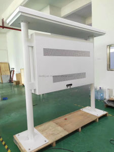 65 legível sob luz solar Horizontal Exterior Digital Signage Ecrã LCD sensível ao toque