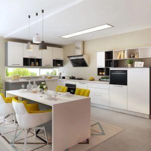 Aisen 2018 kundenspezifische Matt-Lack-Küche-Möbel verwendete Wohnung