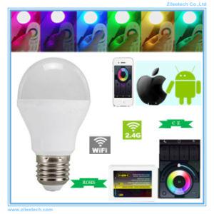 Controle Remoto WiFi regulável RGBW Smart LED da lâmpada