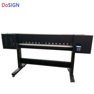 高品質! ! 1600mmの在庫の単一Dx7印字ヘッドの小さいインクジェットEcoの支払能力があるプリンター