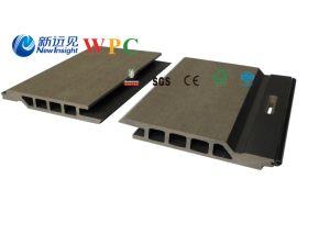 245*20mm木セリウム、Fsc、SGSの証明書が付いているプラスチック合成の壁パネル