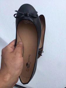 Les femmes soft chaussures à talon plat de PU-7200paires