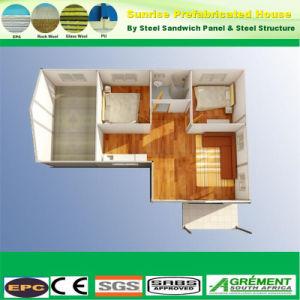 Cemento de EPS de la luz de la estructura de acero prefabricados prefabricados para la construcción de casas Villa