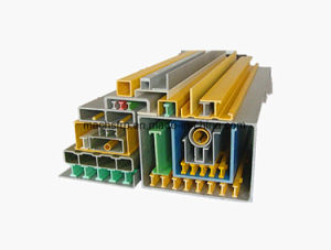 El FRP Pultruding perfil tipo de tubo redondo de RT25