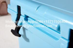 [20قت] بلاستيكيّة [روتومولدد] خارجيّ يقفل مبرّد [تن] لون يعزل جليد يبرّد صندوق