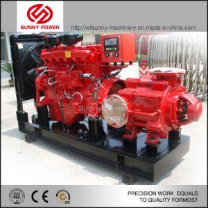 La lucha contra incendios de alta presión bomba de agua accionada por motor Cummins