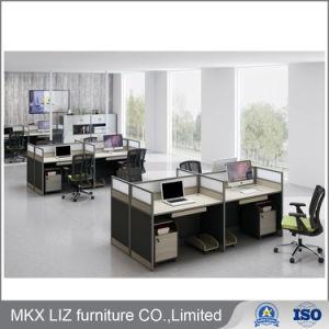 Diseño simple de la Oficina Ejecutiva de la tabla con el marco de metal (GM-2098)