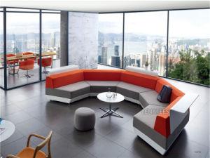 Un design de bureau moderne grand lobby canapé u un design de