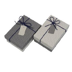 De cartón personalizadas de papel cartón gris/Arte/ver/Joyas/Correa Embalaje de regalo cajas de papel