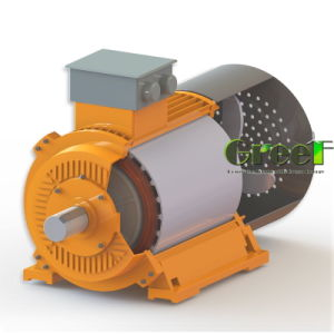 5kw 50kw低いRpmの永久マグネット発電機、風力発電機
