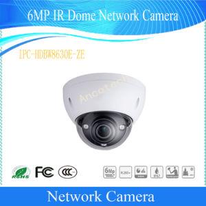 Camera van kabeltelevisie van de Veiligheid van het Netwerk van de Koepel van IRL van Dahua 6MP Vandalproof (ipc-hdbw8630e-ZE)