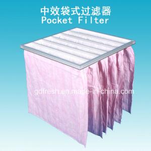 85 % de l'efficacité F7 Nontissé Pocket filtre à air
