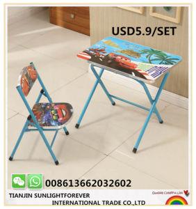 연구 결과를 위한 싼 아이 의자 그리고 테이블 Foldable 아이들 가구