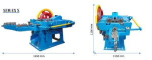 De volledige Automatische Eenvoudige Werkende Spijker die van het Ijzer Machine maken
