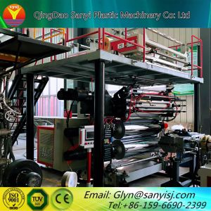 プラスチックPVC Spc床タイルのフロアーリングのマットの生産機械