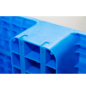 Paletes de plástico de luz na qualidade de Nice, paletes de plástico One-Face, feche as paletes de plástico