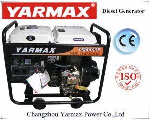Yarmax 저잡음 공기에 의하여 냉각되는 디젤 엔진 열린 구조 디젤 엔진 발전기 세트 Genset Ym9500eb