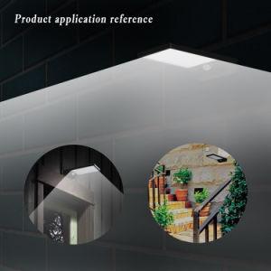 動きセンサーの太陽エネルギー防水太陽LEDの庭の壁ライト