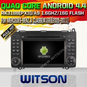Sistema Witson Android Market 4.4 aluguer de DVD para a Mercedes-Benz uma classe