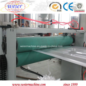 extrusion de plastique vis unique de la machine pour l'extrudeuse en plastique PP PE PS EVA Thermoformage feuille de plastique ABS