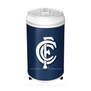 Портативный холодильник на колесах для напитков и напитков