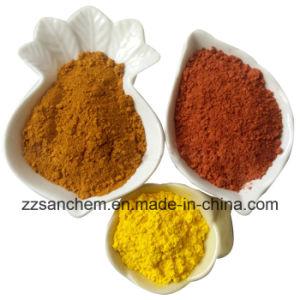 Superfine CAS 1332-37-1 van het Poeder van het Oxyde van het Ijzer Gele Prijs van de Fabriek Fe2o3