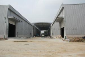 Estructura de acero prefabricada de la luz de la capacidad para taller