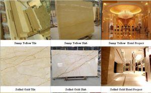 Beige Marmeren, Zonnig Geel Marmer, Gouden Marmer Sofital