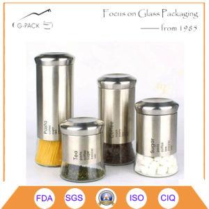 1L de Bussen van het glas voor Deegwaren, Koffie, Suiker, de Opslag van de Thee