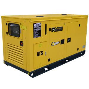 Бесшумный типа резервных источников питания 55 ква четырех цилиндрах Silent генераторной установки
