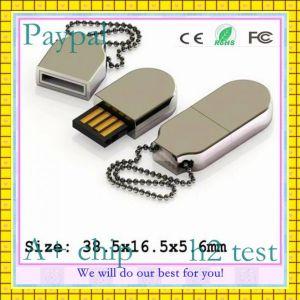 Высокоскоростной порт USB Drive металлический логотип (GC-M455)