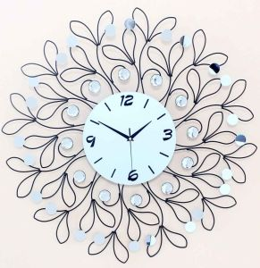 Venta caliente de metal de alta calidad Reloj de pared decorativos de lujo