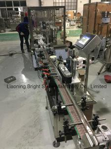 자동적인 피스톤 펌프 살포 병 액체 채우는 밀봉 캡핑 기계