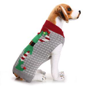 Novo vestuário de cão de estimação quente suéter de Inverno para cães