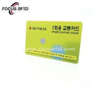 로고 수에 의하여 인쇄되는 표준 크기 RFID 카드