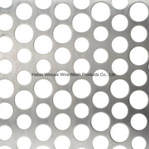 Perforierter Metallblatt-Draht-Stahlineinander greifen-Blatt für Dekoration